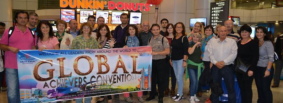 Gano Excel din Romania la Convenția Internațională Gano Excel Global Achievers Malaysia 2015