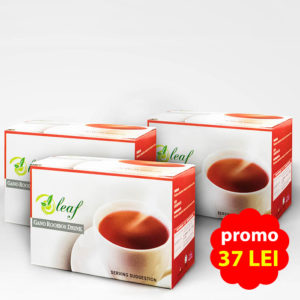 Ceai Oleaf Gano Rooibos Drink-PRET PROMOTIONAL