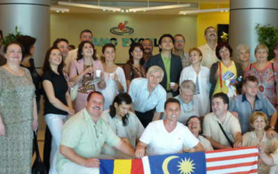 Excursie de vis: Acasă la Gano Excel Malaysia 2009