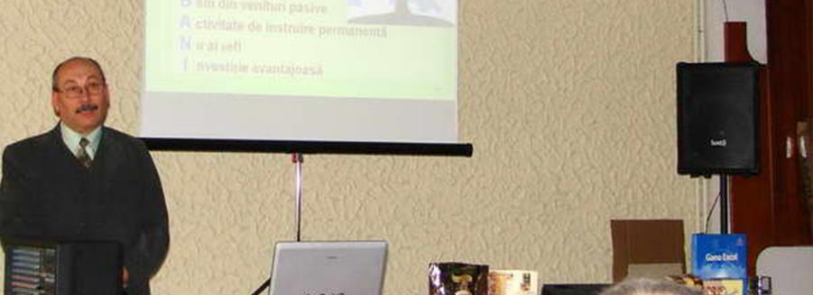 Fotografii seminar Gano Caciulata 2008