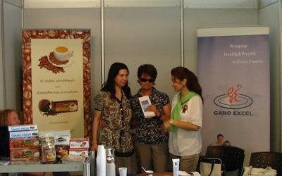 Ganoderma Lucium în medicina holistică la Eco Vita 2012